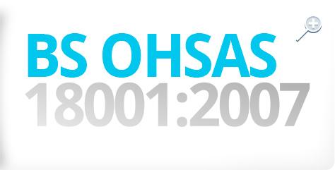 RESA BCN - Certificado: BS OHSAS 18001:2007